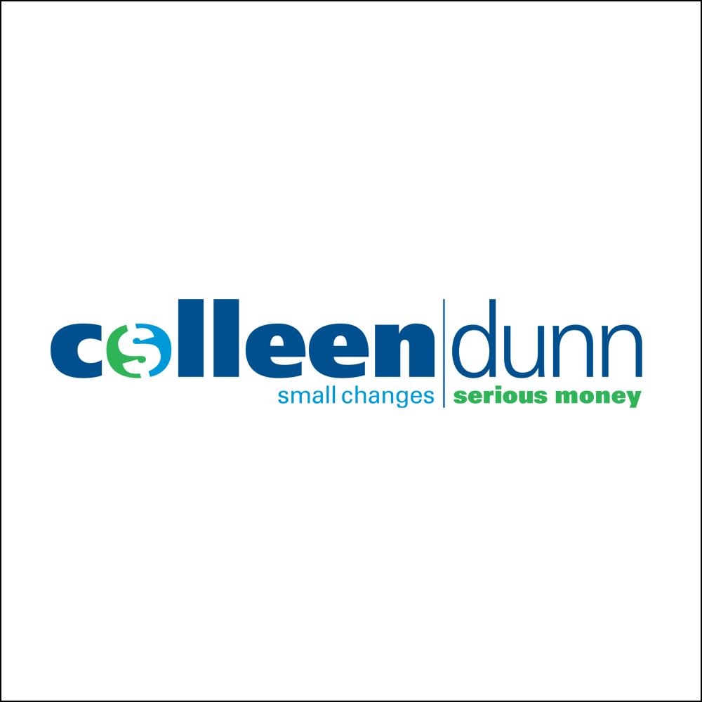 Logo Design, Colleen Dunn - Small Changes, Serious Money