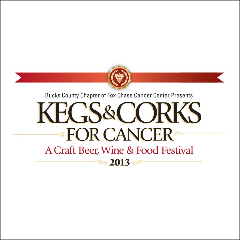 Logo Design, Kegs & Corks for Cancer