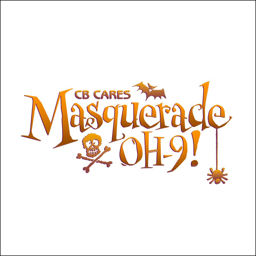 Logo Design, CB Cares, Masquerade OH-9!
