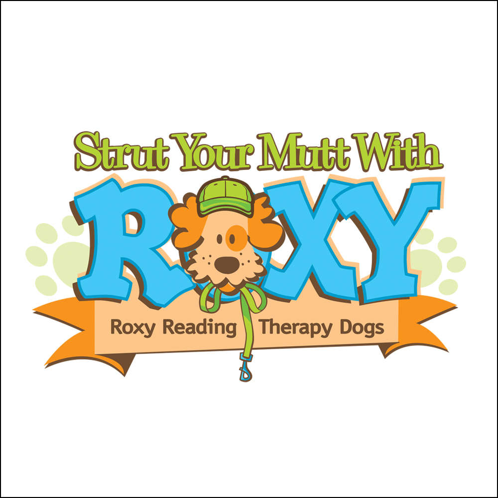 Logo Design, Strut Your Mutt with Roxy Reading