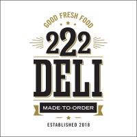Logo Design, 222 Deli