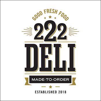 Logo Design: 222 Deli