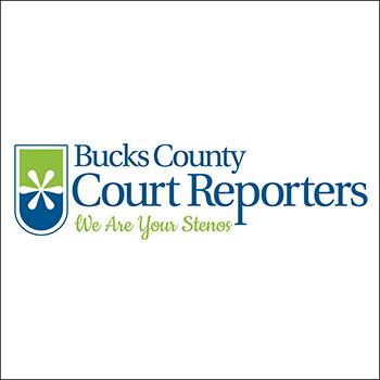 Logo Design: Bucks County Court Reporters